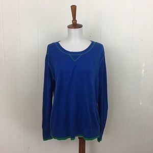 Vince Camuto Long Sleeve Crew Neck Sweater